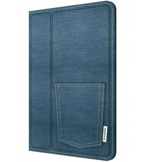 XtremeMac Micro Folio Denim Case for iPad Mini - Blue