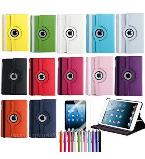 360 rotation case for ipad mini 1,2,3